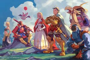 Final Fantasy Tactics - Side B by Roboto-kun