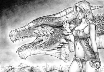 Draconis 4 by Jeremy-FALCHI