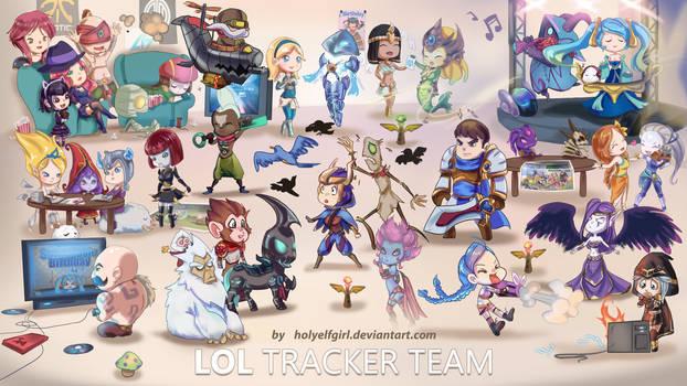 LoL Tracker team by HolyElfGirl