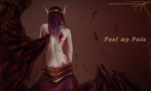 Feel my pain by HolyElfGirl