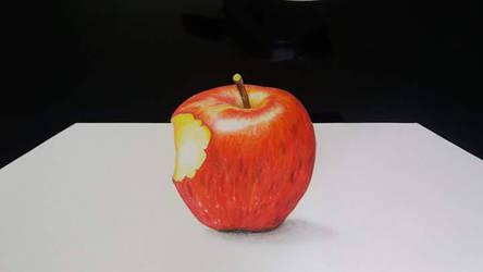apple 3D by Jai-artes