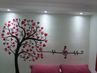 Tree of hearts by Jai-artes