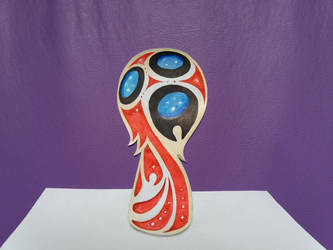2018 World Cup logo by Jai-artes
