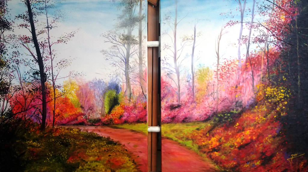 colorful path by Jai-artes