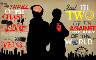 The Brain and the Heart- BBC Sherlock Wallpaper by BradyMajor