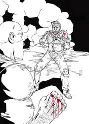 Fistfight By Firelight by BradyMajor