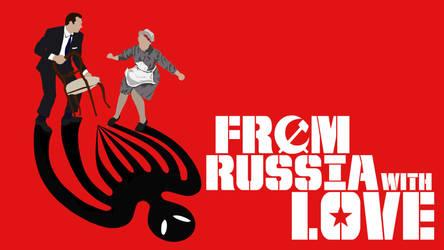 FROM RUSSIA WITH LOVE Desktop Wallpaper #2 by BradyMajor