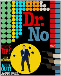 DR. NO Minimalist Poster by BradyMajor