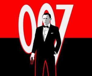 Daniel Craig James Bond Wallpaper by BradyMajor