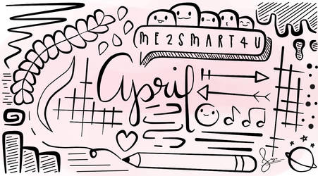 :: Doodle for April :: by otakufood-jaja