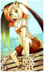 By the sound of the Ocean by IndI-Art
