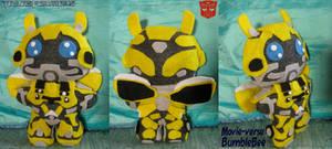 TF: Bumblebee (Movieverse) Plushie by CinnaMonroe