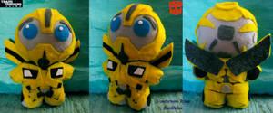TF Prime: Bumblebee Plushie by CinnaMonroe