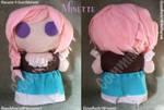 Commish - Minette Plushie by CinnaMonroe