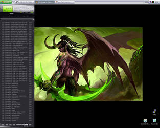 :: Illidan Stormrage :: by synergia