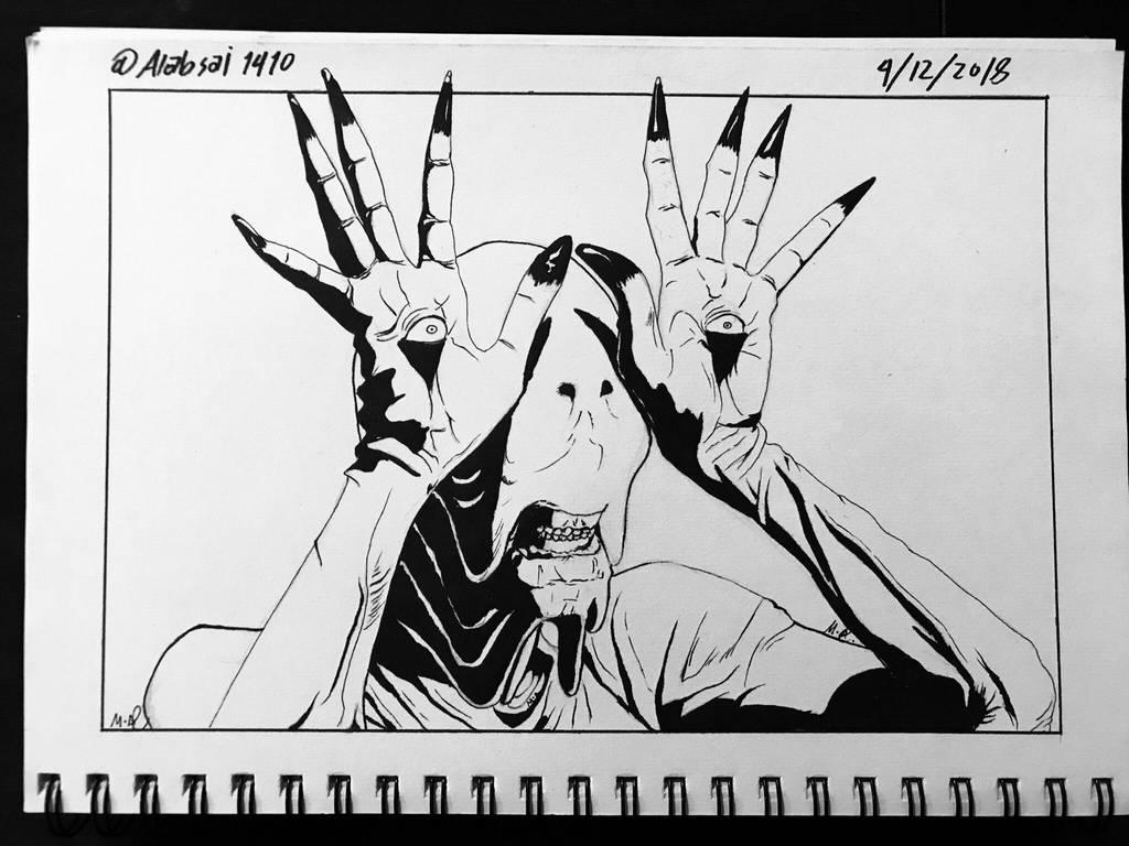 Pale Man By Alebsi On Deviantart