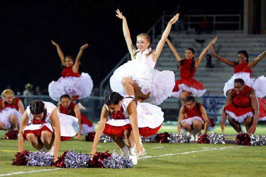 Woodrow Wilson Sweethearts Drill Team by Albertarias
