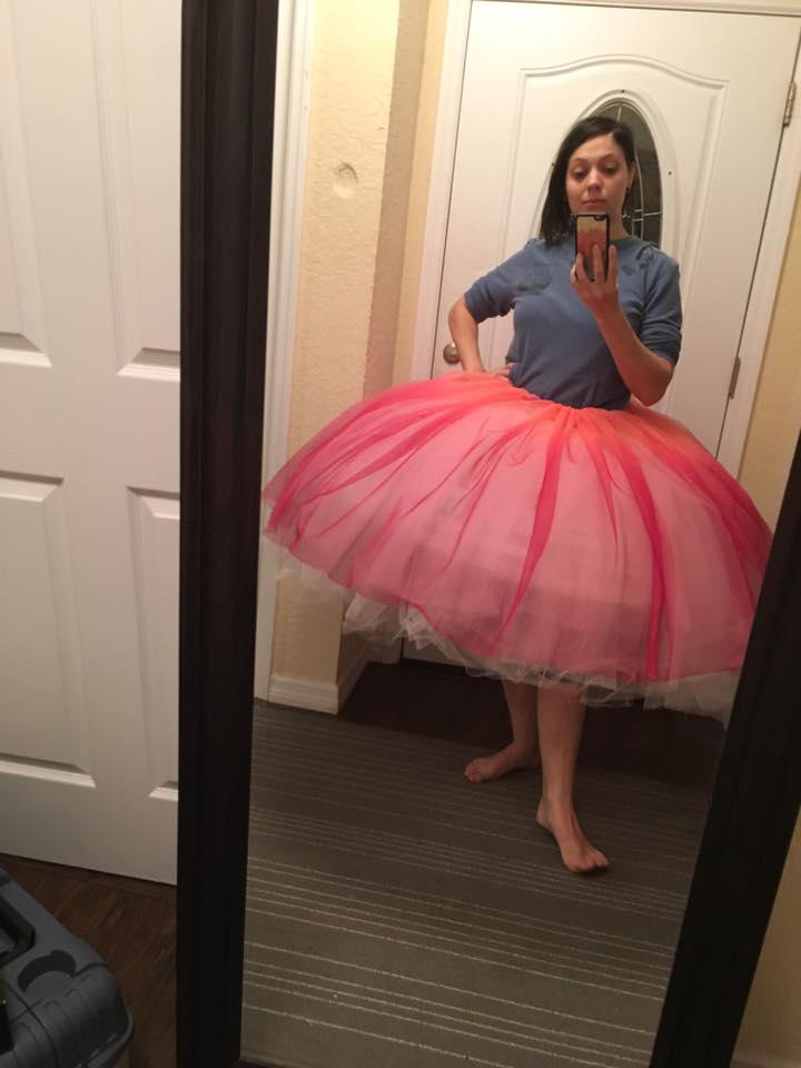 Ginormous fluffy bellish shaped petticoat by Albertarias