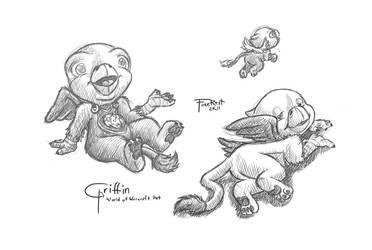 Mythology Griffin Pet by vdragoneyen09