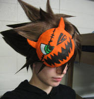 Sora's Halloween mask by Malindachan