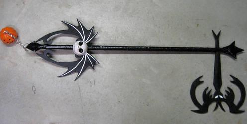 Pumpkinhead Keyblade by Malindachan