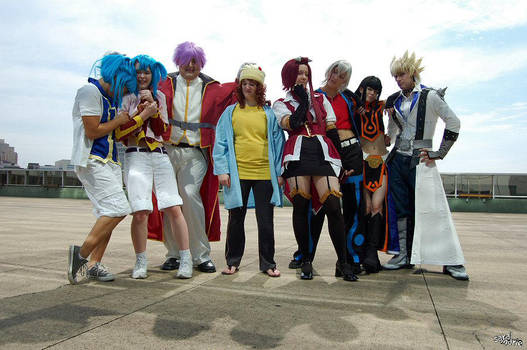 Animefest 2009: 5D's group by Malindachan