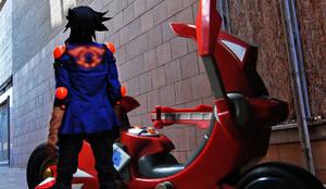 Yusei Fudo: Crimson Dragon by Malindachan