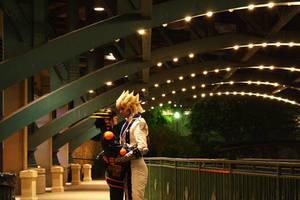 Under a bridge of stars by Malindachan