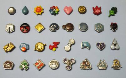 Poke-badges by Malindachan