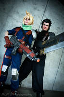 Crisis Core: Cloud and Zack by Malindachan