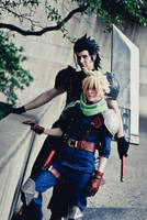 Crisis Core: Cloud and Zack 2 by Malindachan