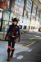 Yusei Fudo: Warrior for the Future by Malindachan
