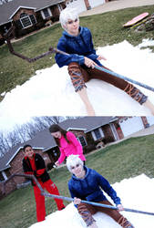 Jack Frost: White Christmas by Malindachan