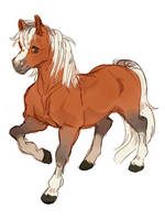 Epona by himehorse