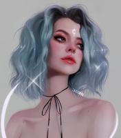 bleu by taozipie