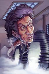 Jeff Goldblum by bonvillain
