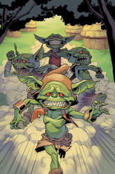 Pathfinder: Goblins #3  To Read or Not To Read p1 by bonvillain
