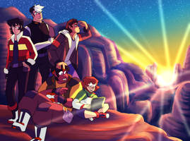 Voltron by Waterdrain