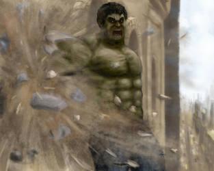 Hulk SMASH!! by nisamerica