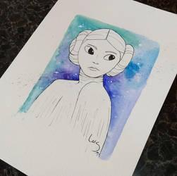 Star Wars - Leia by l-m1