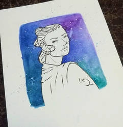 Star Wars - Rey by l-m1