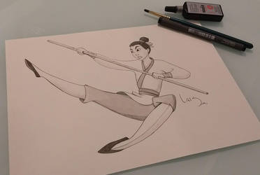 Mulan by l-m1