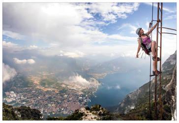 An alternative perspective on Lake Garda by JamesRushforth