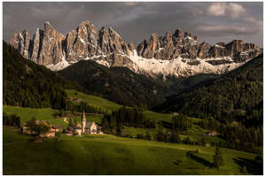 The beautiful Val di Funes by JamesRushforth