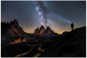 Rifugio Locatelli and the Tre Cime di Lavaredo by JamesRushforth