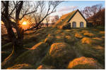 Hofskirkja Turf Church by JamesRushforth