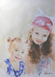 Zosia i Marysia by danuta50