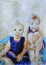 Marysia i Zosia by danuta50