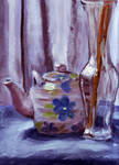 Vase with Teapot by Snowy-Dragoness
