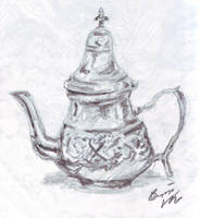Moroccan Teapot by Snowy-Dragoness